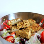 Low Carb Salat mit Tofu