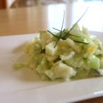Gurken-Apfel Salat
