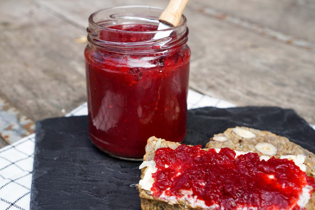 Low Carb Marmelade aus Waldfrüchten