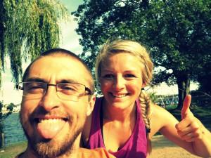 Selfie mit Fotograf Budha