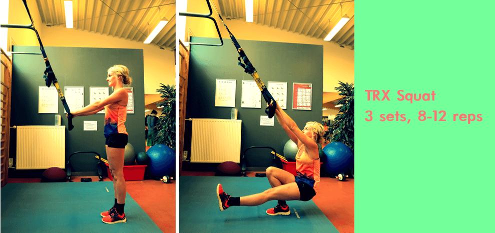 TRX Übungen Beine