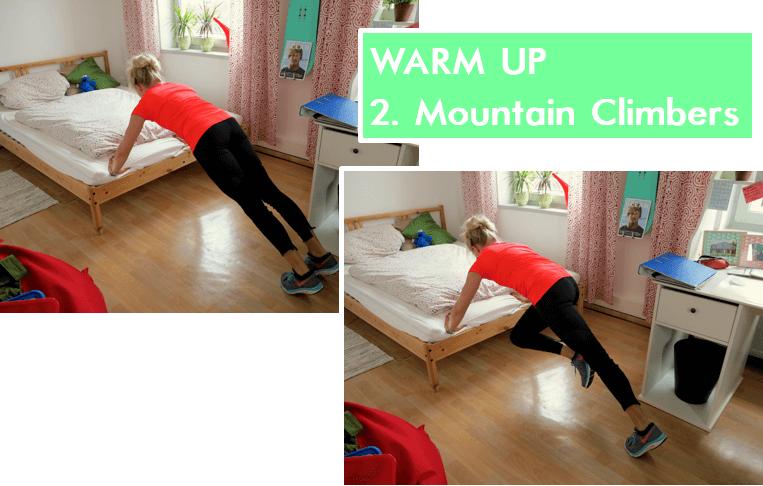 Home Workout - Mountain Climbers