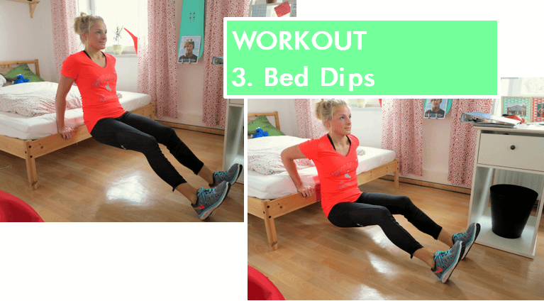 Home Workout - Bed Rows