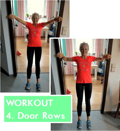 Home Workout - Door Row