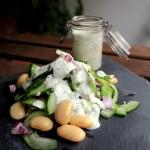 Gurken-Bohnen Salat