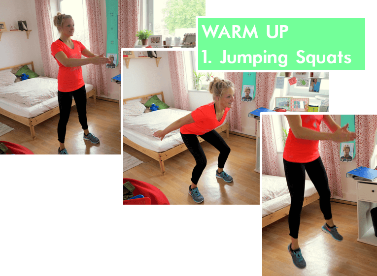 Home Workout - Jumping Squats