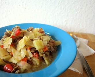 Weißkohleintopf ohne Kartoffeln