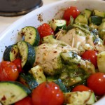 Pesto-Chicken | Low Carb Rezept
