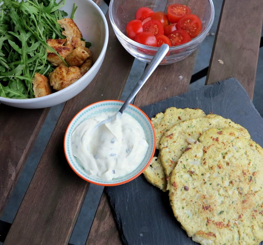Low Carb Tortilla - Rezept Mit Nur 2 Zutaten