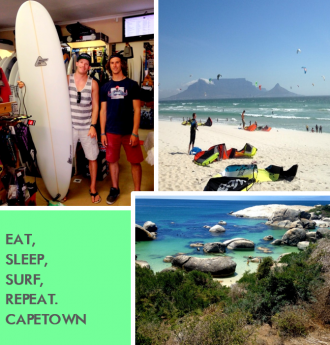 Kitesurfen Südafrika - ein Paradies für alle Surfer dudes!