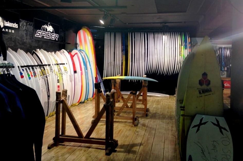 Surfshop Südafrika