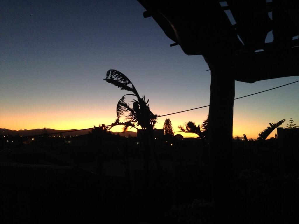Sunset Capetown