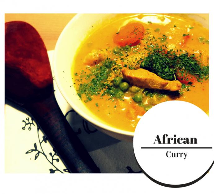 """Low Carb Curry """"African Style"""" liefert zahlreiche Vitamine und punktet durch einen süßlichen Geschmack"""