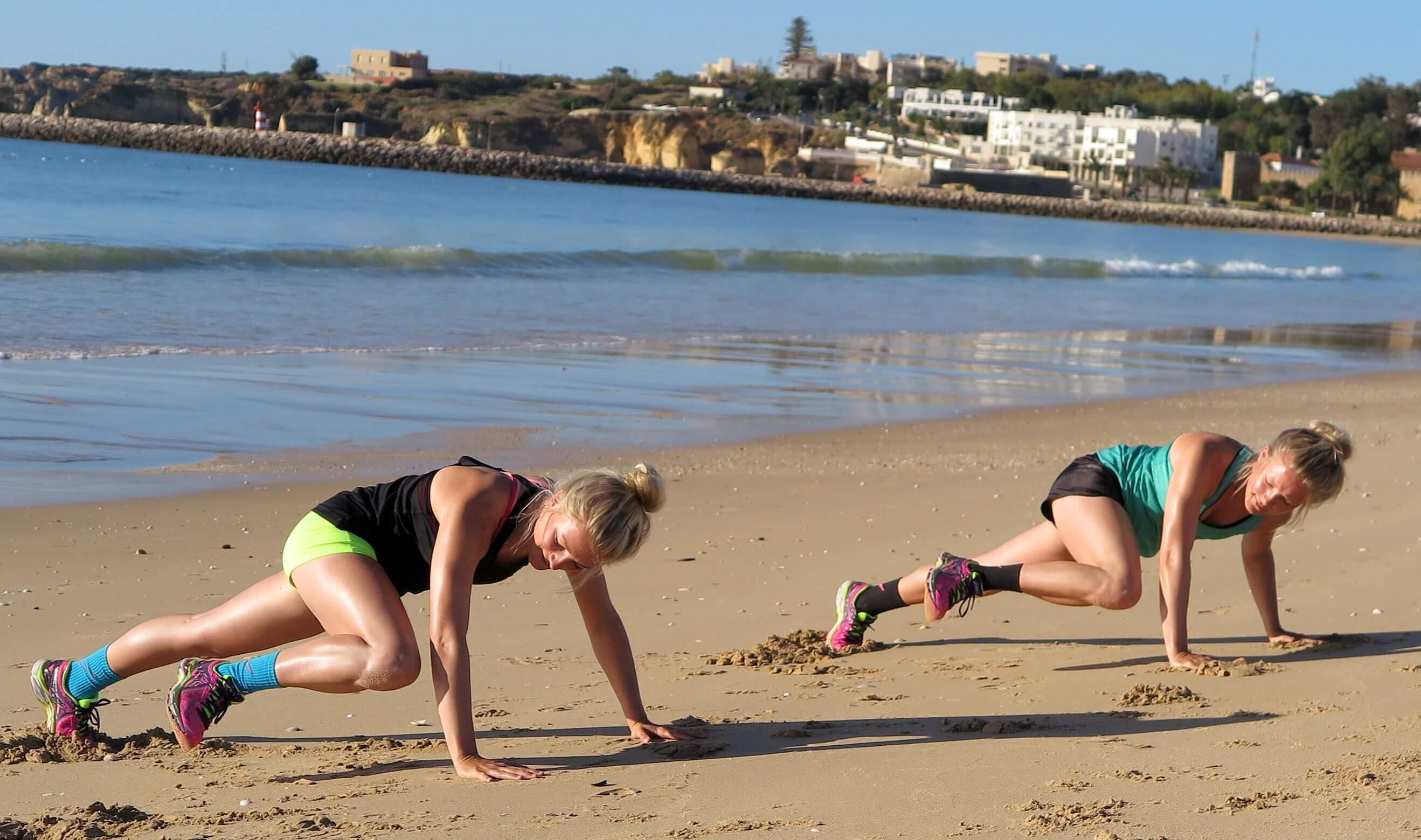 Regelmäßige Sporteinheiten lassen das Fett an der Hüfte schmelzen