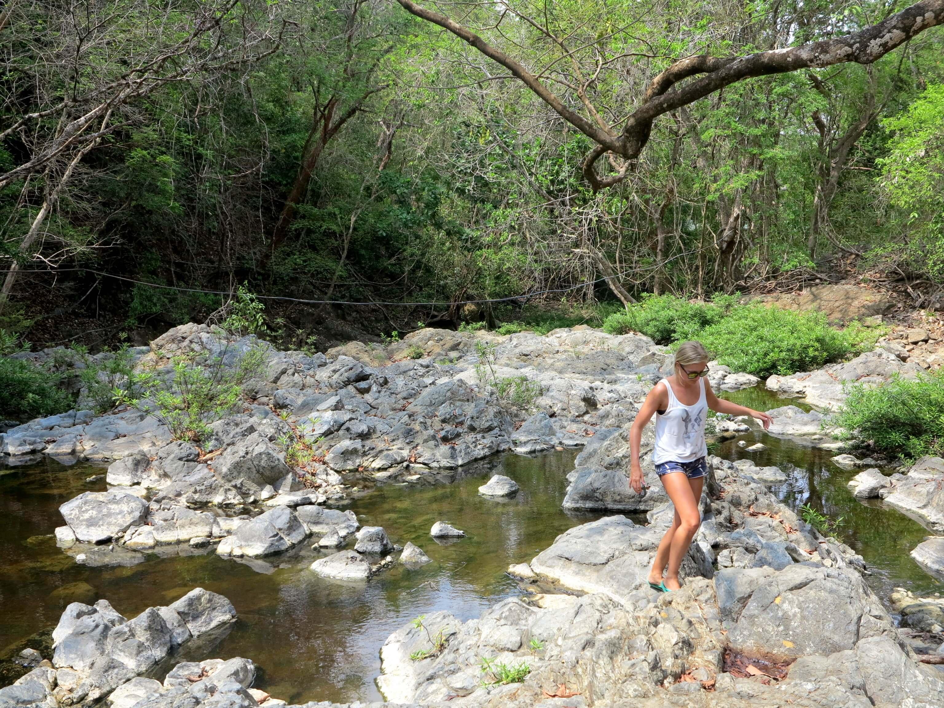 Auf dem Weg zu den Montezuma Waterfalls