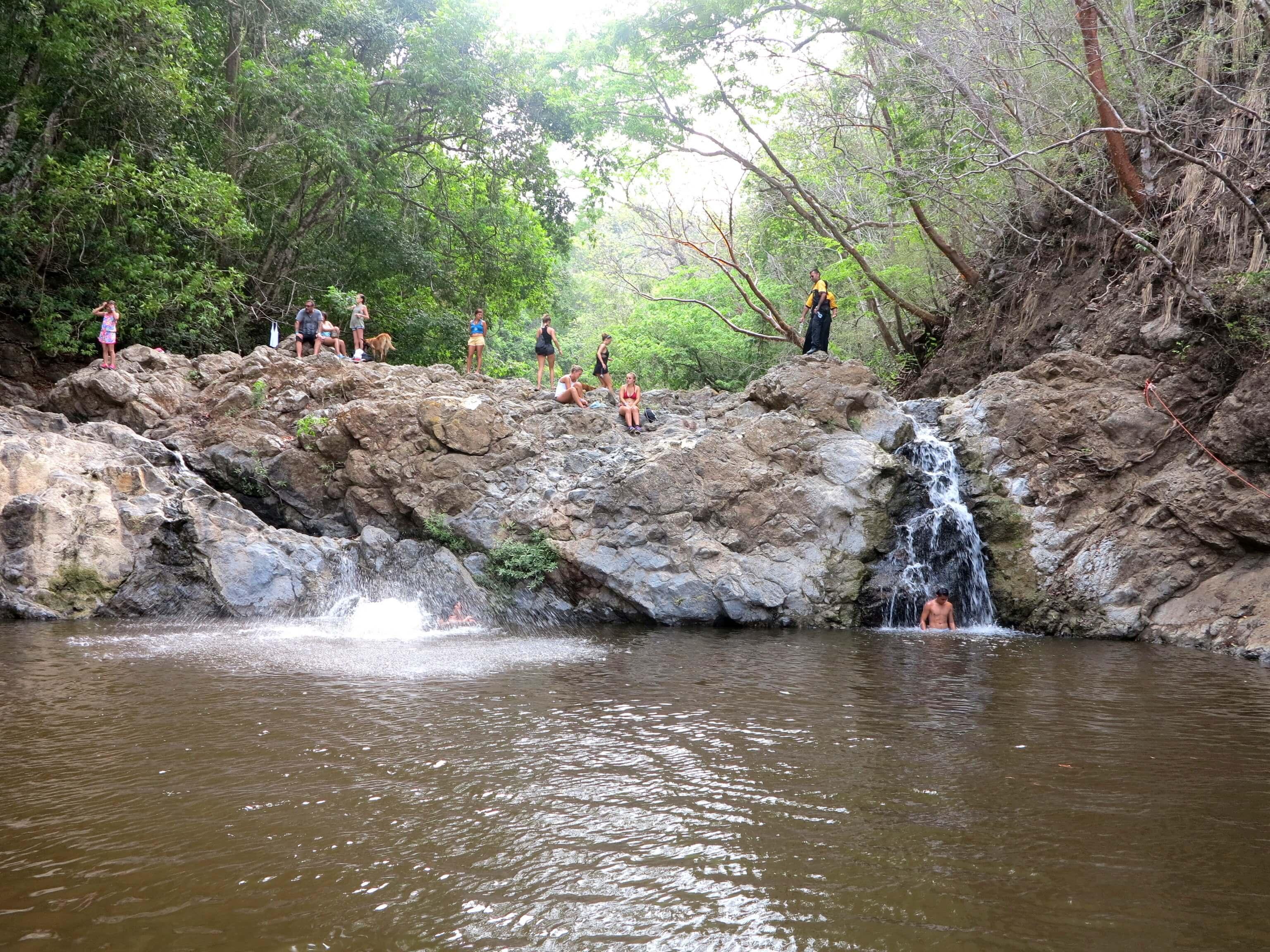 Die Quelle der Wasserfälle