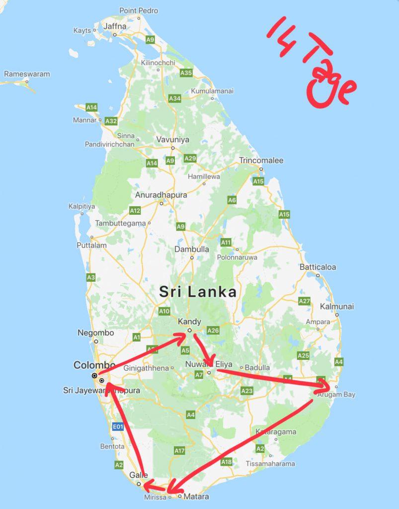 Sri Lanka - Das Land mit vielen Gesichtern