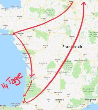 Sporturlaub Frankreich