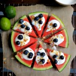 Melonenpizza - Low Carb Rezept