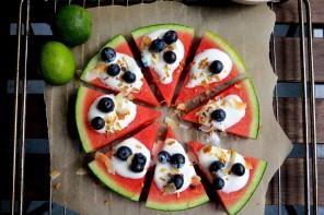 Melonenpizza