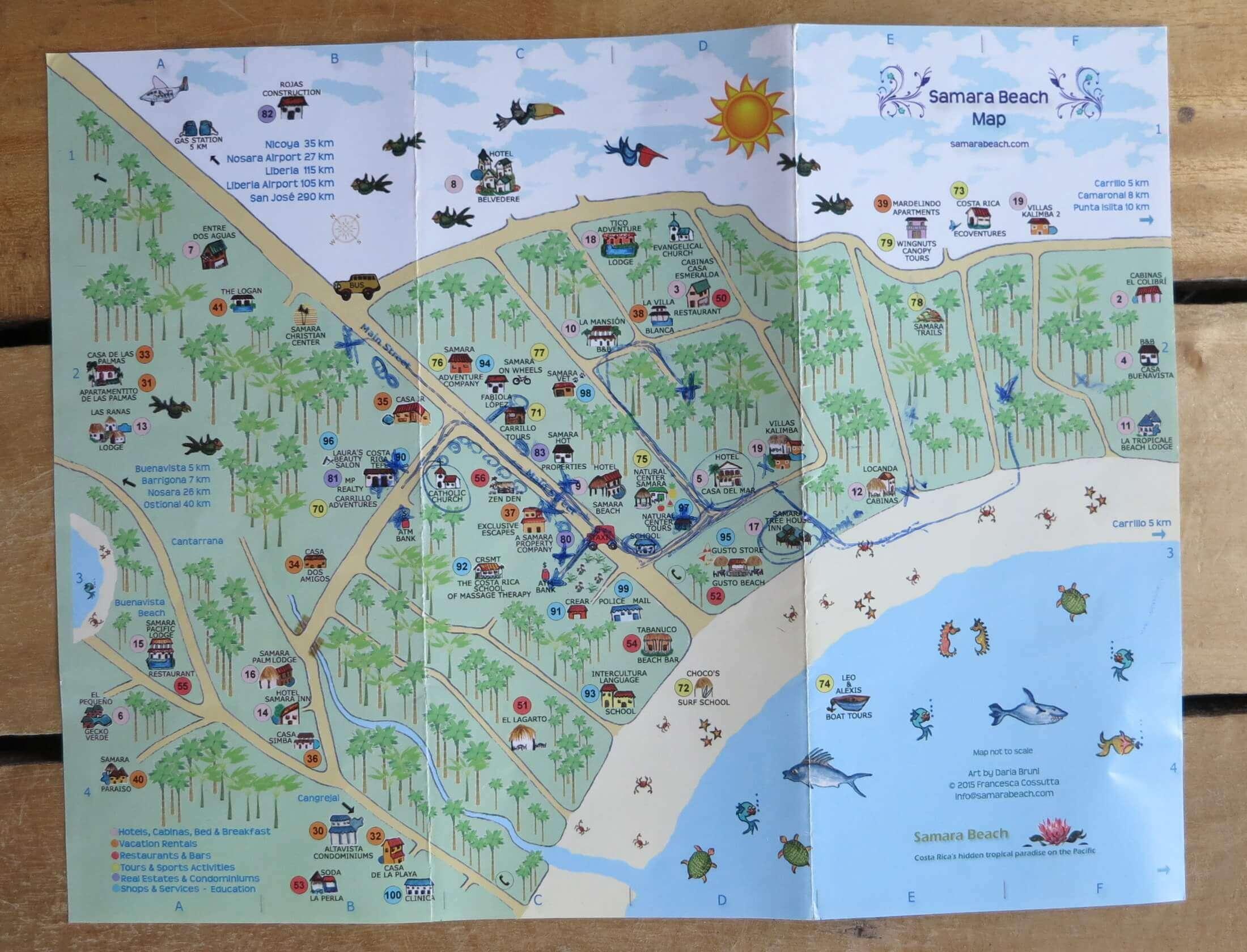 Map Samara