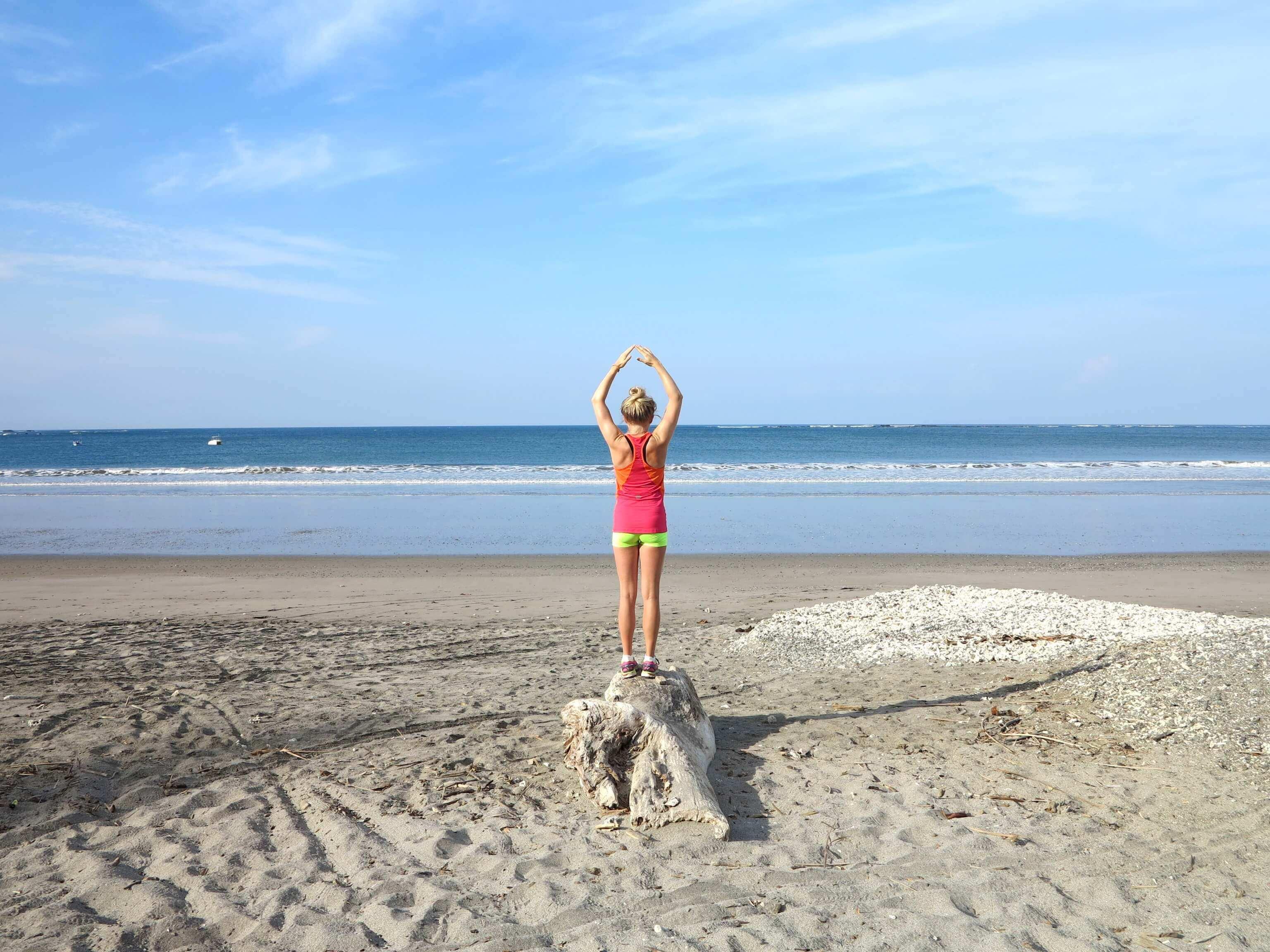 Playa Samara bietet zahlreiche schöne Plätze zum Entspannen