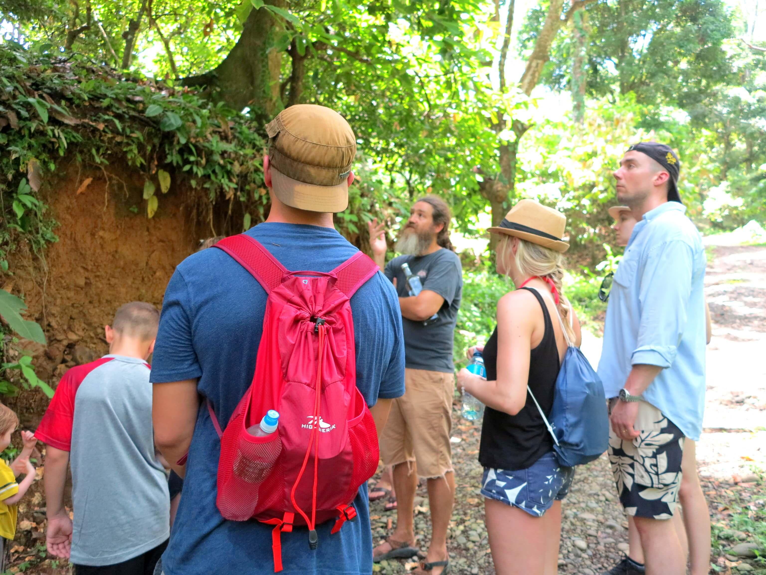 Tour auf der Chocolate Farm in Puerto Viejo