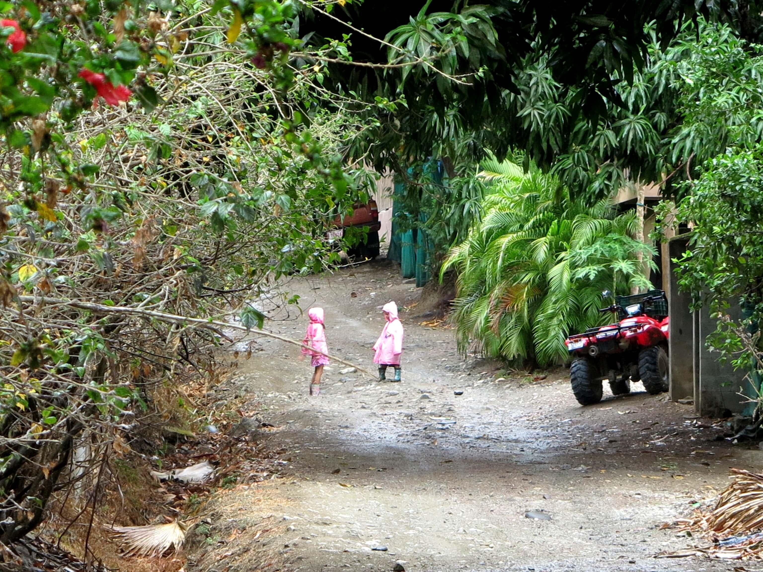 Tropenschauer sorgen für jede Menge Freude in Costa Rica