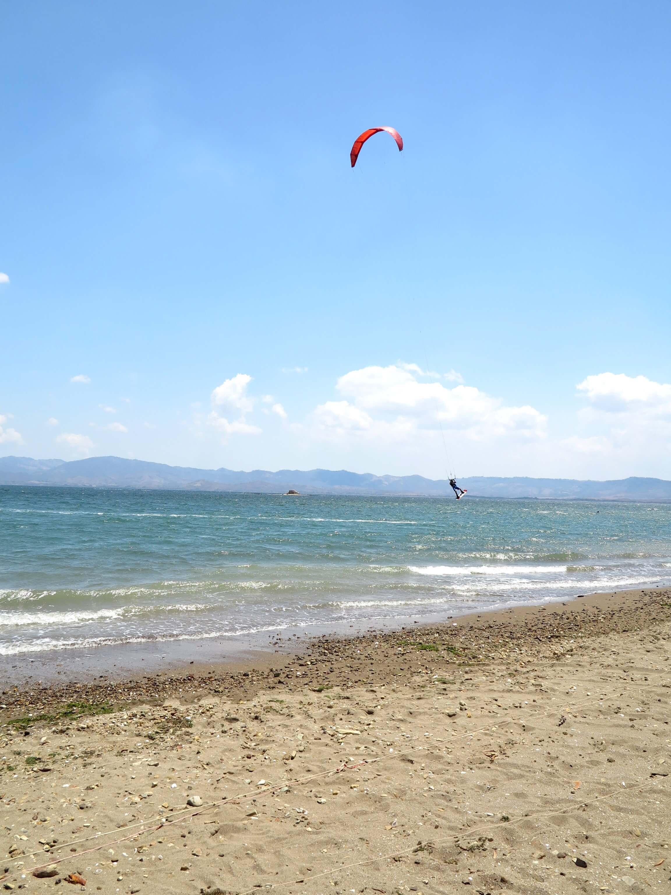Viel Wind im Norden Costa Ricas sorgt für die perfekten Kitebedingungen