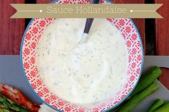 Sauce Hollandaise Low Carb mit griechischem Joghurt, Honig und Senf