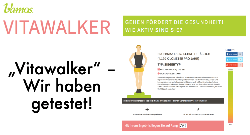 "Fitness-Tool ""Vitawalker"" im Test"