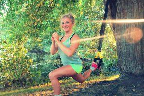 TRX HARDCORE – Bein Workout