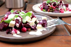 Low Carb Rote Bete-Kichererbsen-Salat