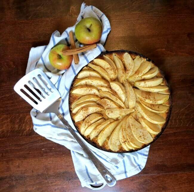 Apfelkuchen Low Carb Mit Kokosmehl Twinfit
