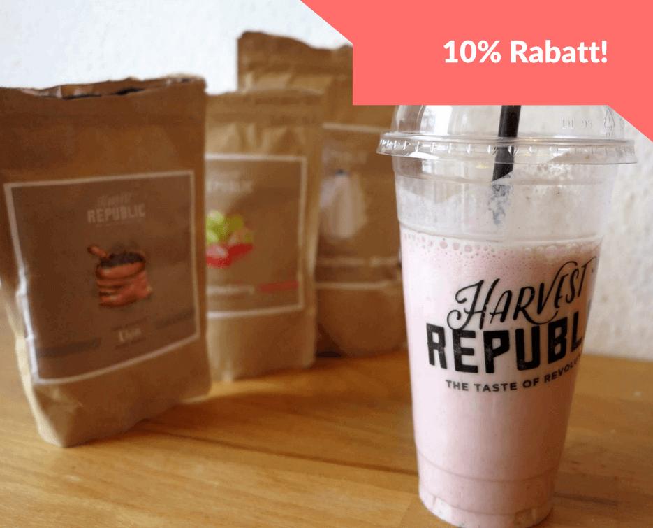 Harvest Republic Rabatt-Code Gutschein