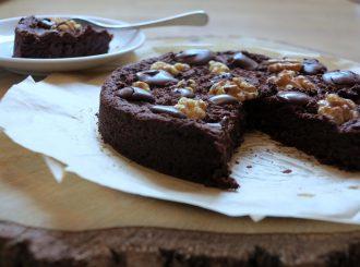 Low Carb Brownie Kuchen Rezept ohne Mehl und ohne Zucker