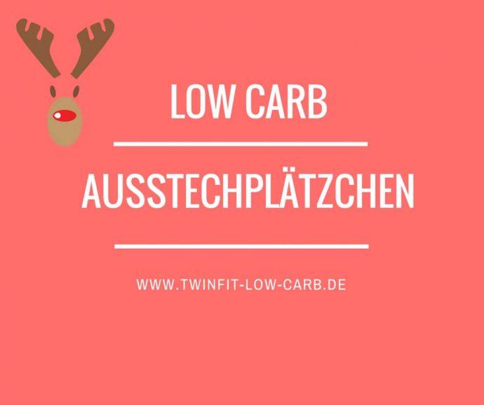 Low Carb Ausstechplätzchen