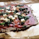 Kohlenhydratfreie Pizza aus Leinsamen