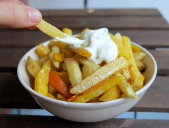 Low Carb Pommes ohne Kartoffeln