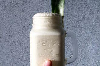 Pina Colada Shake - Rezept ohne Zucker