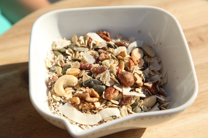 Superfood Müsli - Low Carb Rezept