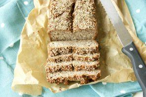 Kohlenhydratarmes Chia-Brot