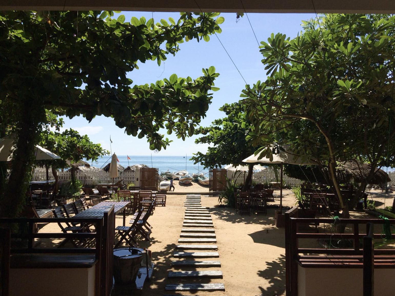 Strandzugang Hotel Bay Vista - Arugam Bay