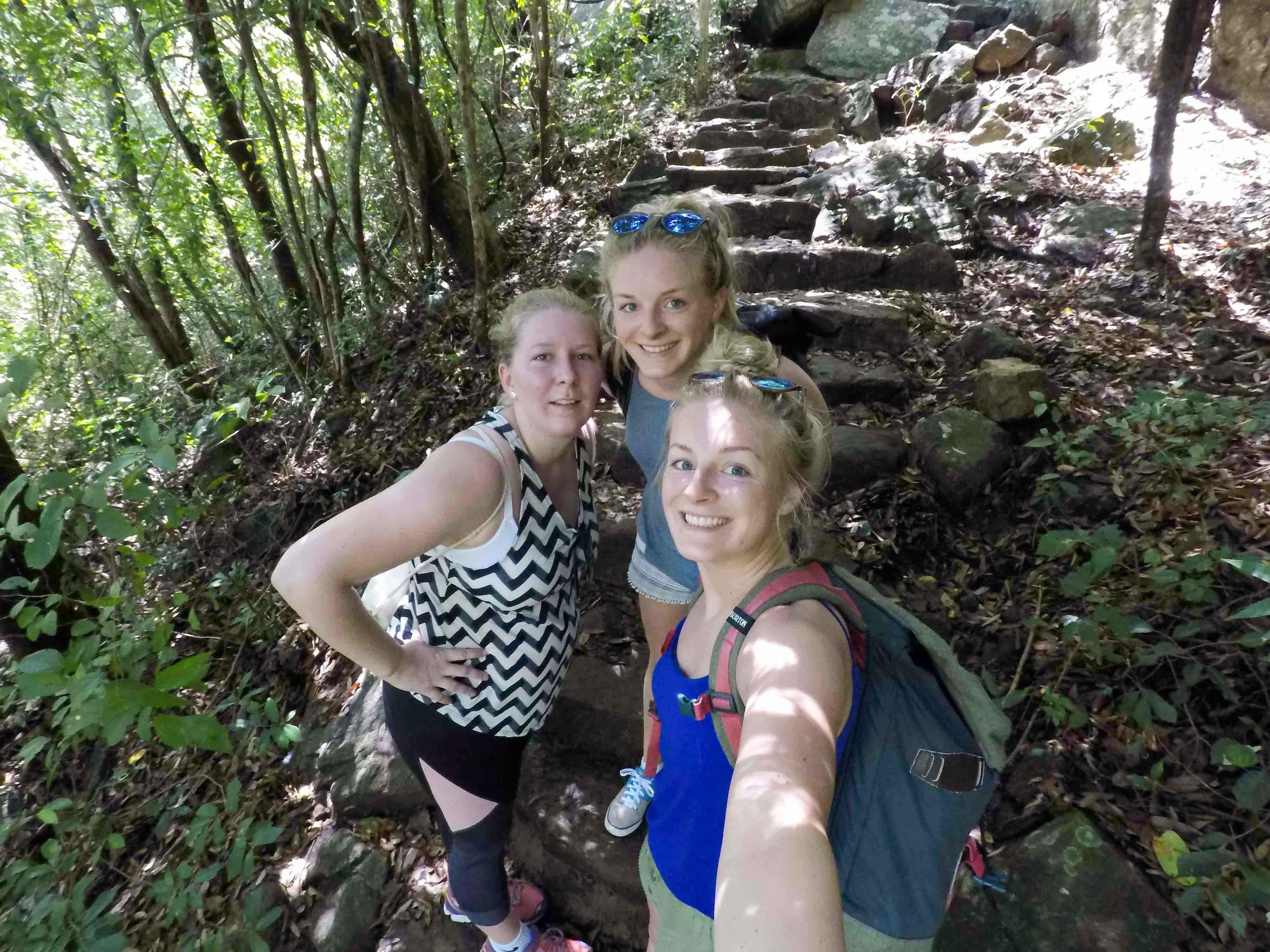 Aufstieg Little Adams Peak - Ella