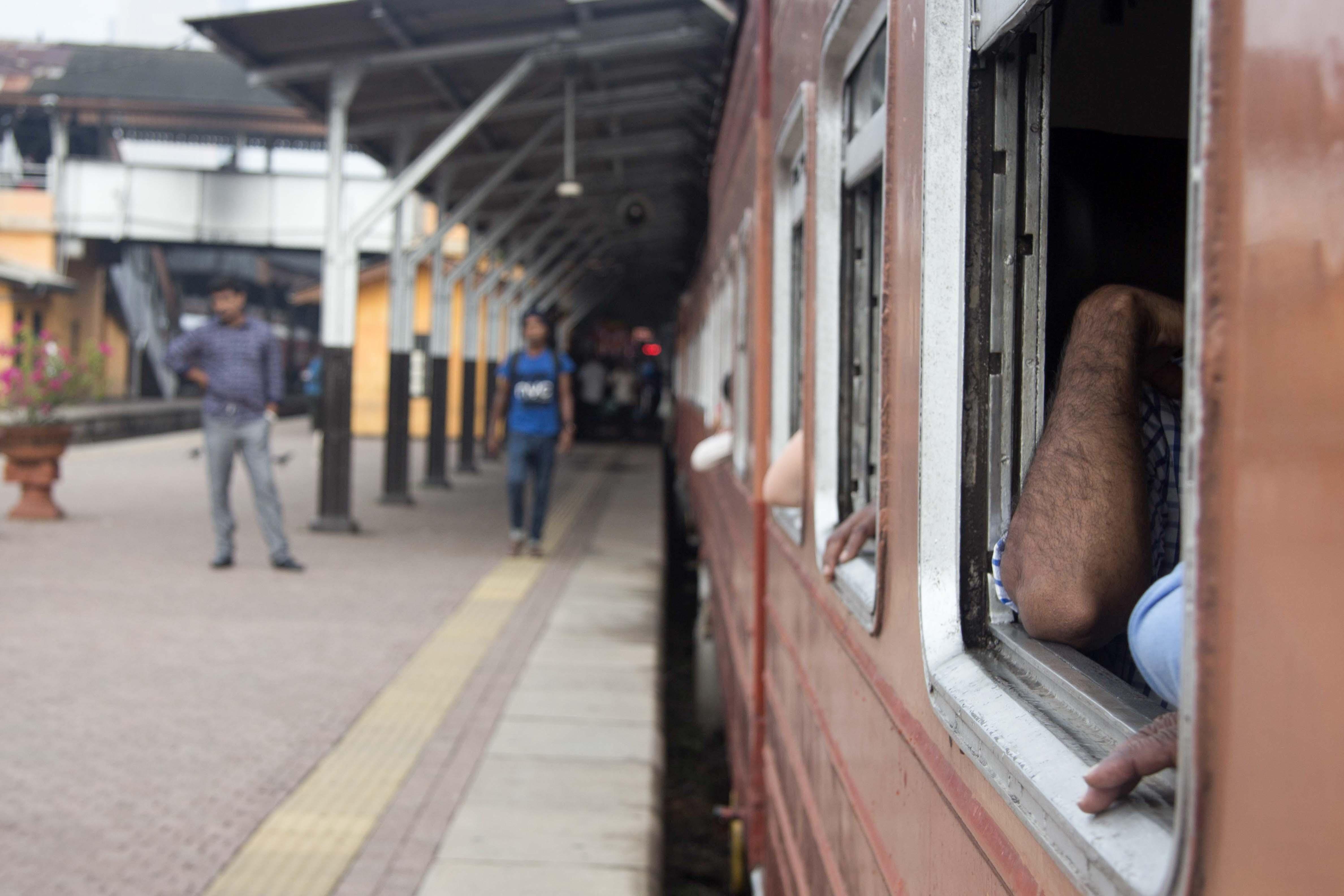 Bahnhof in Colombo Fort