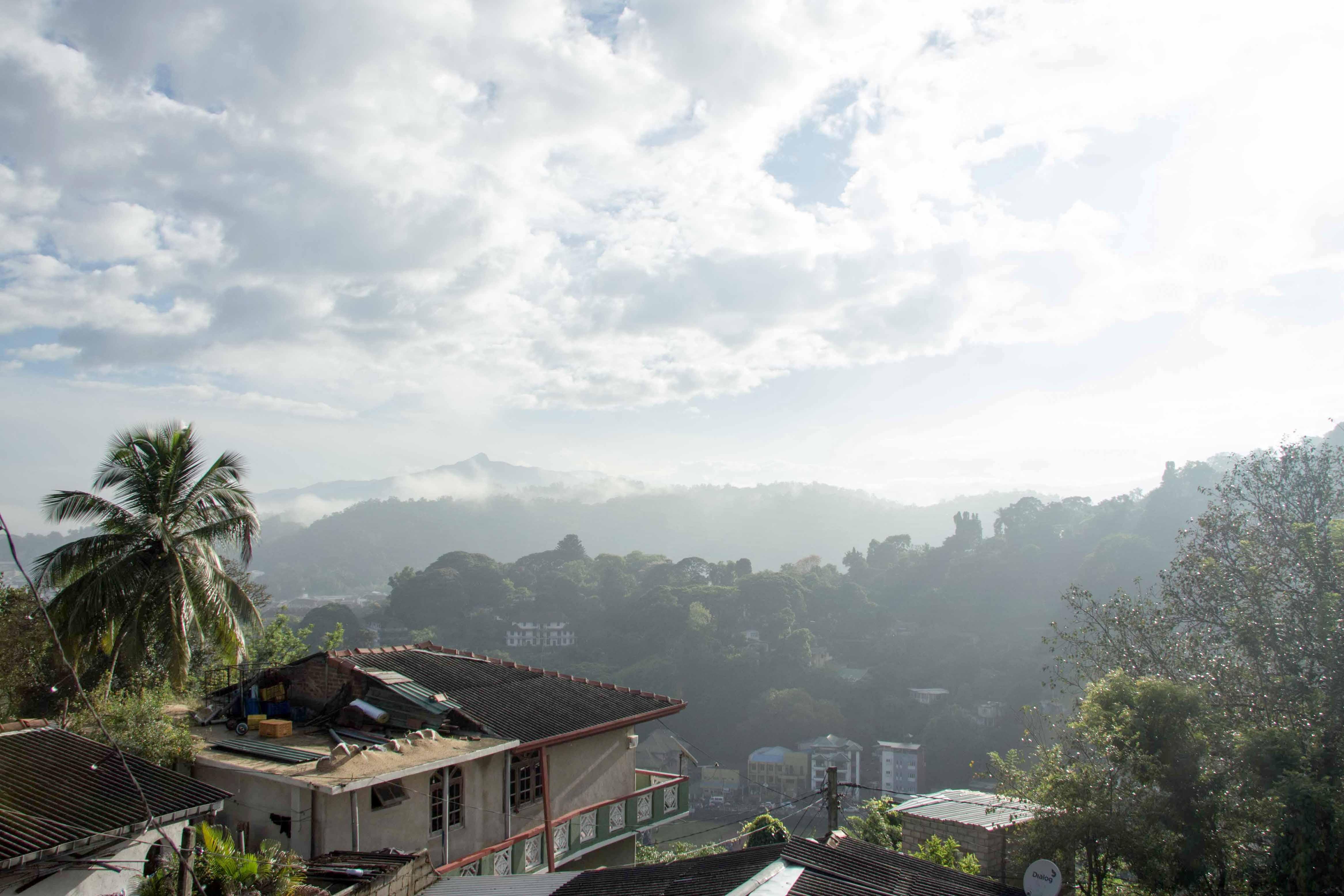 Unterkunft in Kandy