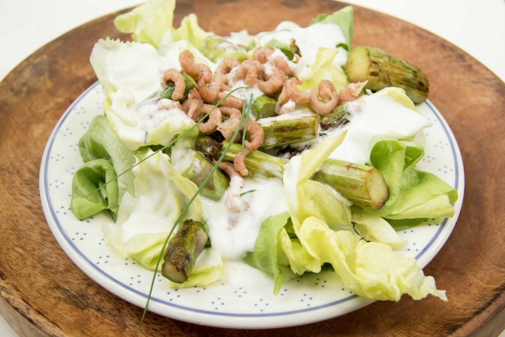 Spargelsalat Low Carb