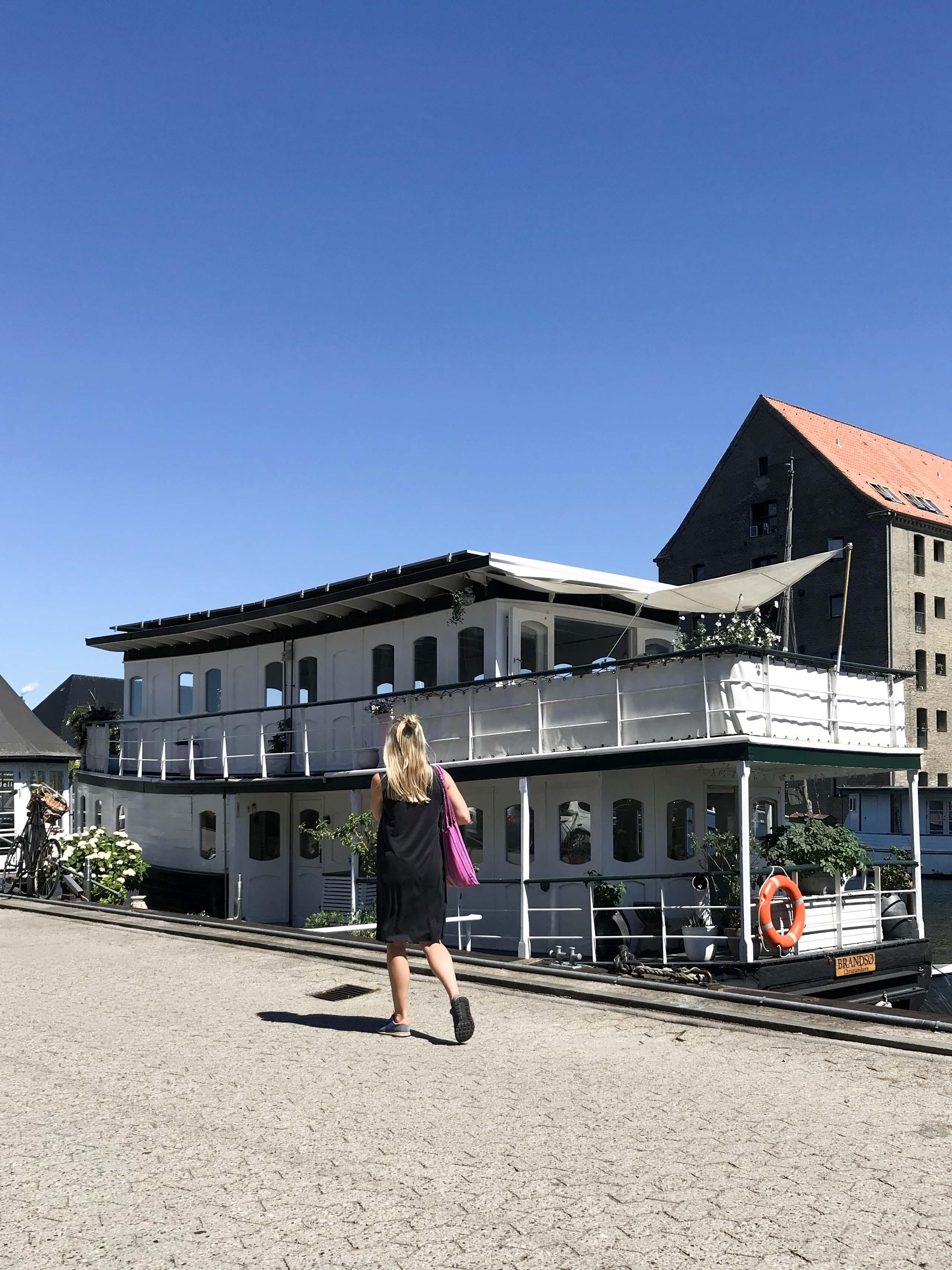 Sightseeing Kopenhagen - Das soll ein Hausboot sein???