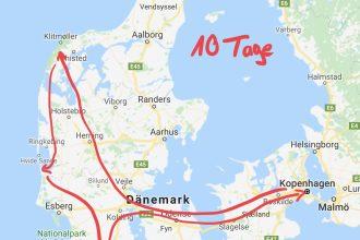 Rundreise Dänemark - 10 Tage auf sportlicher Entdeckungstour