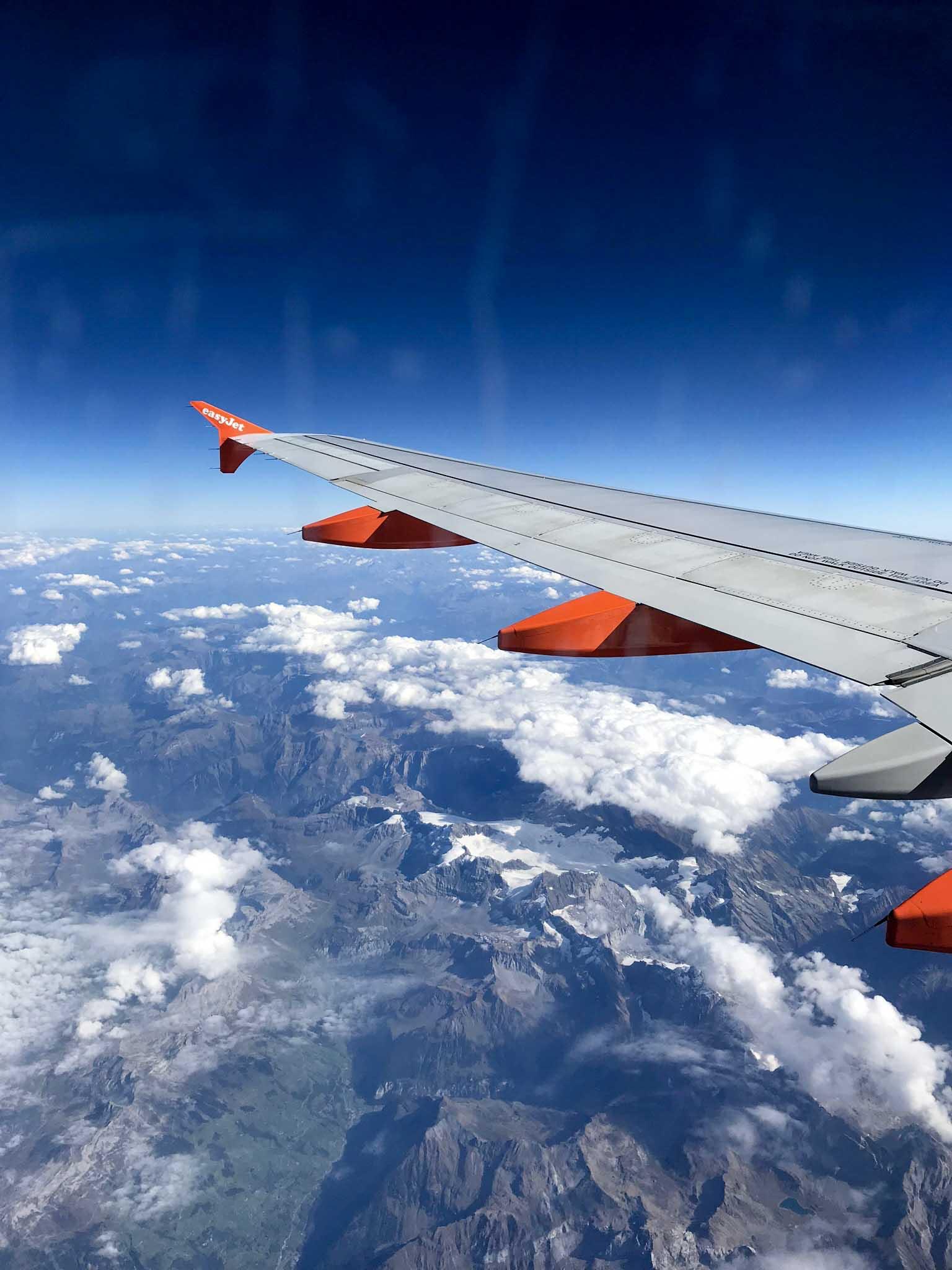 Mit easyjet von Amsterdam nach Olbia